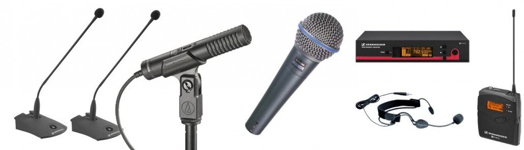 Microfoons huren